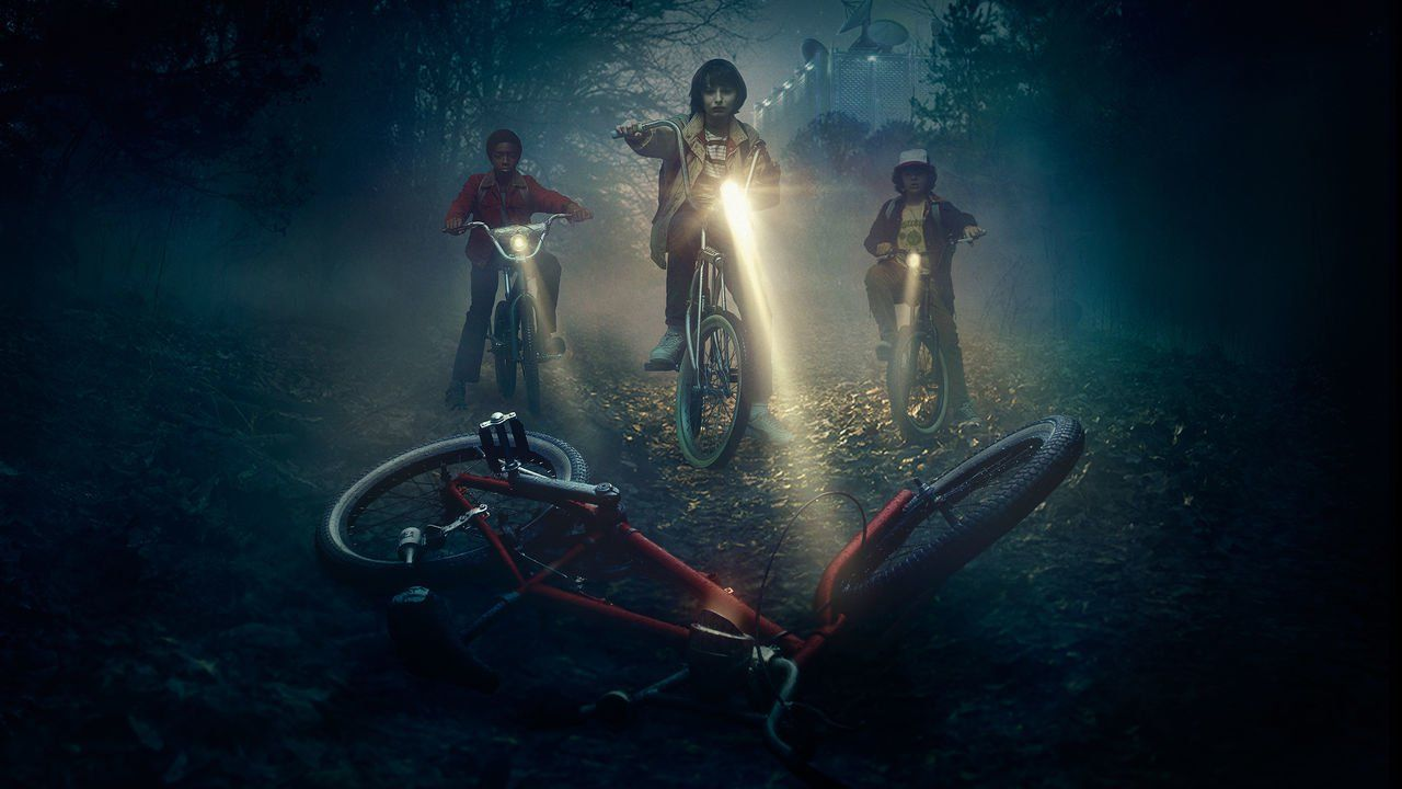 Serie Stranger Things de Netflix