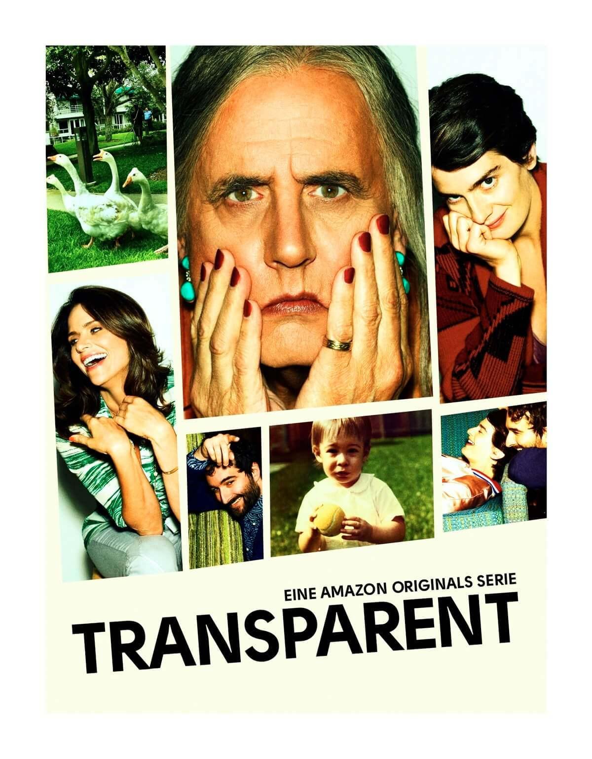 Transparent, cartel serie