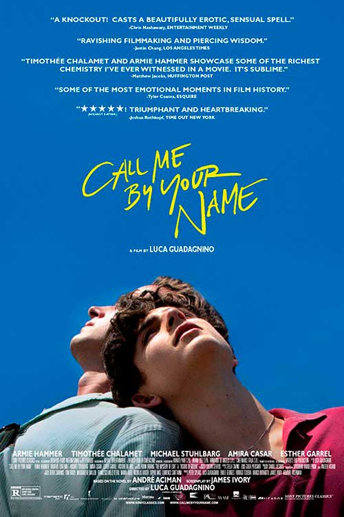 Poster de Call me by your name