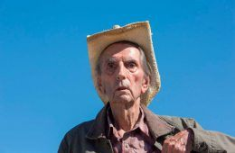 Harry Dean Stanton en el film Lucky